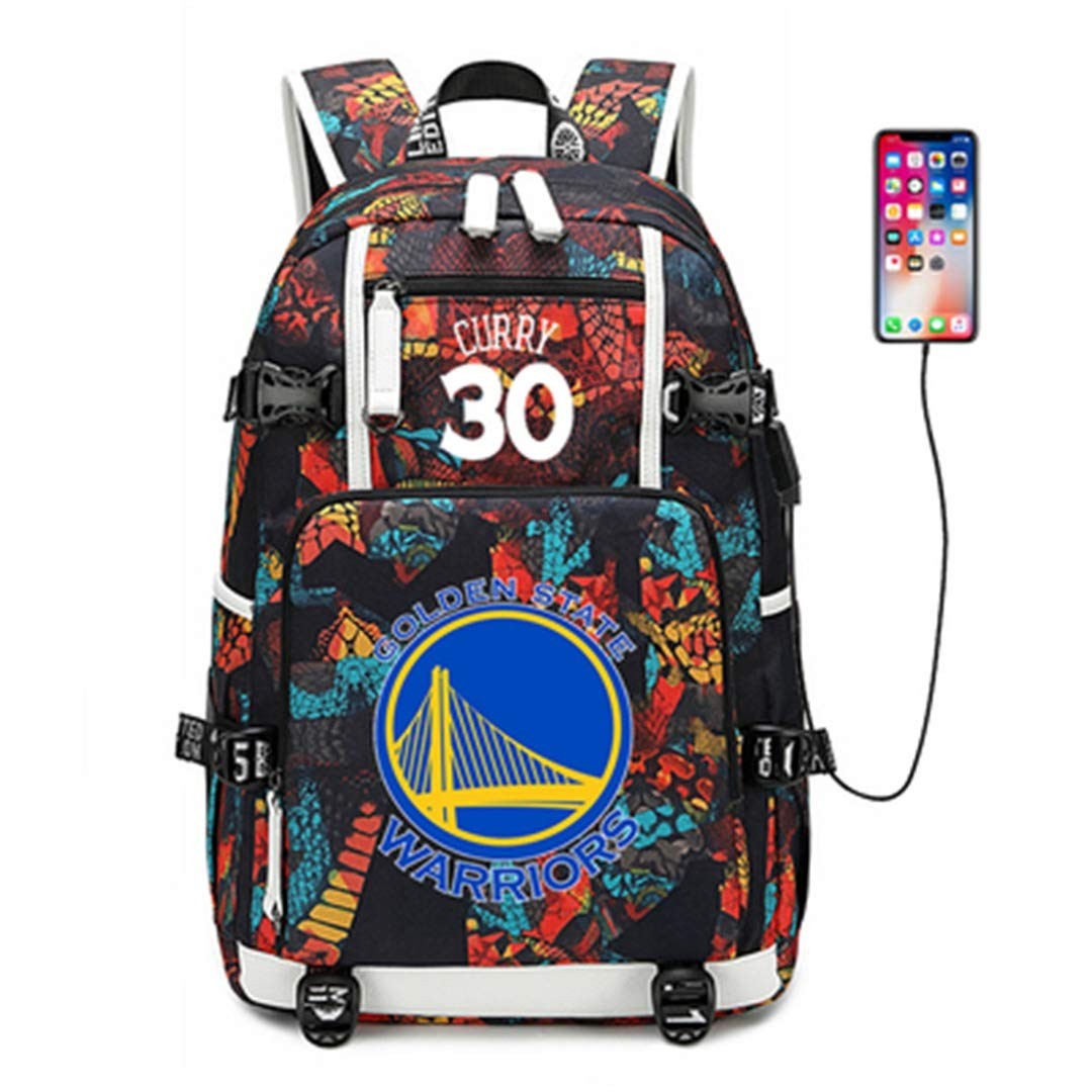AUGYUESS Basketball Player Star Backpack School Bag Daypack Bookbag Shoulder Bag Laptop Bag by AUGYUESS