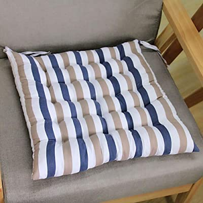 Ywoow Outdoor Garden Patio Home Kitchen Office Sofa Chair Seat Soft Cushion Pad, Tatami Striped Cushion : Sports & Outdoors