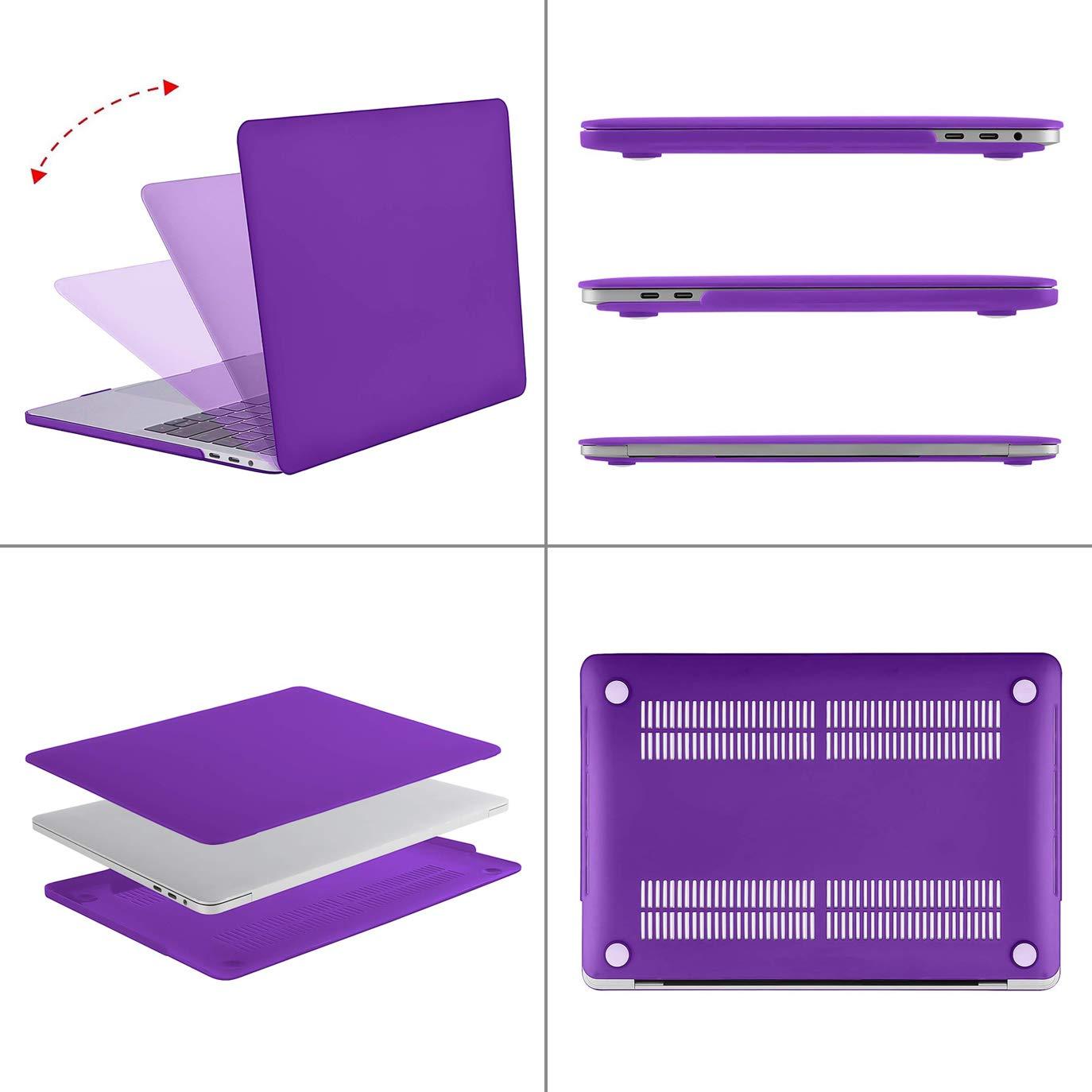 MOSISO Funda Dura Compatible con 2019 2018 2017 2016 MacBook Pro 13 con//sin Touch Bar A2159 A1989 A1706 A1708 USB-C Ultra Delgado Carcasa R/ígida Protector de Pl/ástico Cubierta Capulet Olive