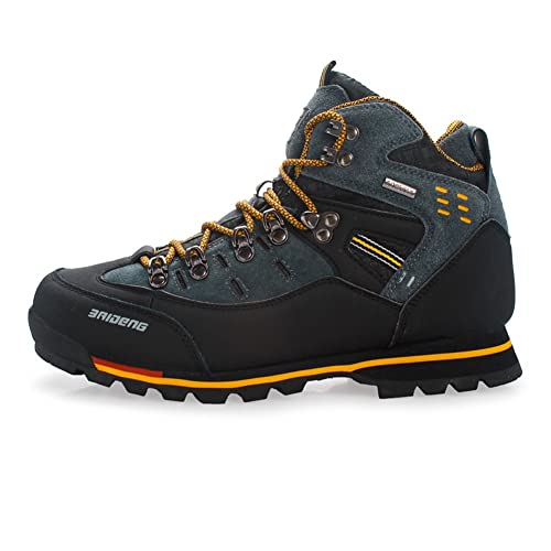 Amazon.com | GOMNEAR Men Hiking Boots High Top Outdoor Trekking Shoes Non Slip Breathable Walking Climbing Sneaker | Hiking Shoes