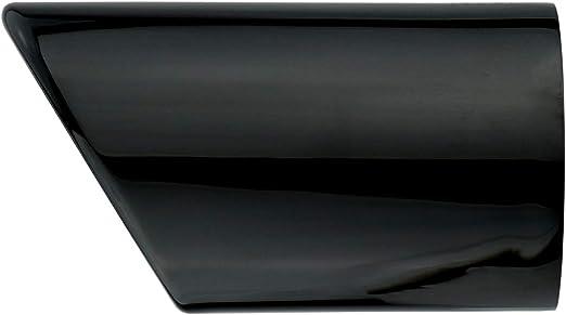 L P A289 2 Auspuffblenden Auspuffblende Schwarz Chrom Edelstahl Spiegel Poliert Kompatibel Mit Golf 7 Vii Variant Kombi Plug Play Endrohrblenden Endrohrblende Auspuff Blende Endrohre Auto