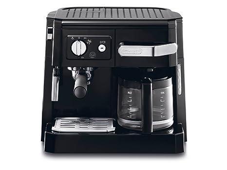 DeLonghi BCO 410.1 - Cafetera combinada espresso y goteo, 2.6 l ...