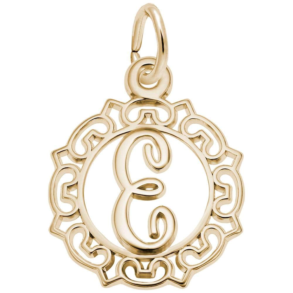 Letter E Rembrandt Charms