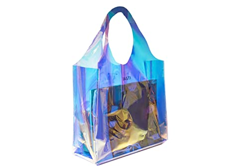 2d14f99b37 DASTI Clear bag stadium approved for women plastic transparent tote purse