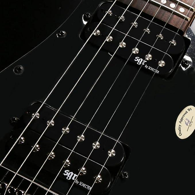 Miiliedy Juego de guitarras eléctricas para principiantes Práctica de práctica unisex para adultos Guitarra eléctrica adecuada para Rock Roll Blues Heavy ...