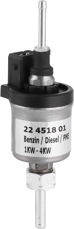Nicoone Bomba Dosificadora de Combustible 24V Calentador Diésel 1Kw 44Kw 22451801 Apto para Eberspacher Airtronic D2 D4 D4S