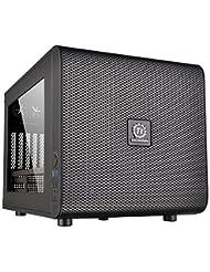 Thermaltake Core V21 SPCC Micro ATX Cube Computer Chassis CA-...
