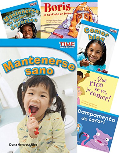 (Teacher Created Materials - Classroom Library Collections: ¡Saludable y en forma! (Healthy and Fit!) - 6 Book Set - Grade 1 - Guided Reading Level H)