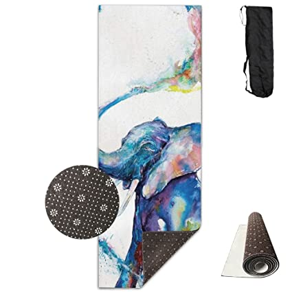 Amazon.com : QNKUqz Watercolor Elephant Water Spray Deluxe ...