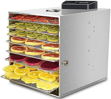 Opinión sobre L.TSA Deshidratador de Alimentos Deshidratador de Alimentos, Temporizador de Control de Temperatura 360w 6 Bandejas, Secadora de Alimentos, para el procesamiento de Carne y Verduras Frescas
