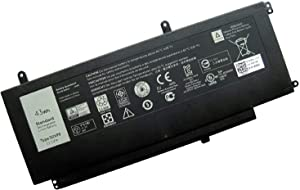 Fully New D2VF9 Relacement Laptop Battery Compatible with Dell Inspiron 15 7547 7548 0PXR51 PXR51-11.1V 43WH