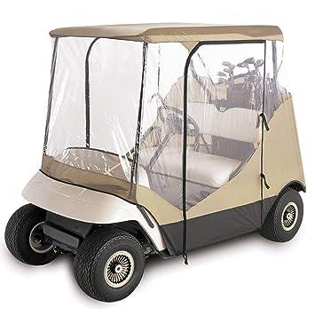 ZUINIUBI - Funda Impermeable para Carrito de Golf, Tela Oxford 210D + Lluvia de PVC, Accesorios clásicos para Coche: Amazon.es: Hogar