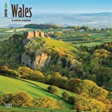 Wales 2018 12 x 12 Inch Monthly Square Wall Calendar, UK United Kingdom Scenic