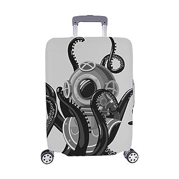 Traje de Buceo Vintage Octopus Retro Scuba Spandex ...