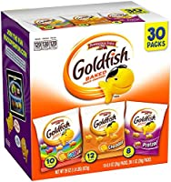 Pepperidge Farm Goldfish Variety Pack Classic Mix, (Box of 30 bags)