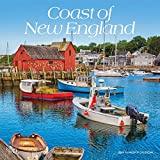 Coast of New England 2021 12 x 12 Inch Monthly Square Wall Calendar, USA United States of America Scenic Nature Ocean Sea Coast