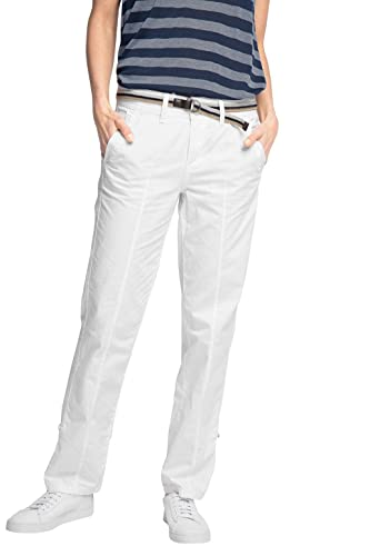 Esprit Mit Gürtel, Pantalones para Mujer