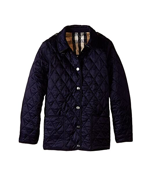1f2bffd9d Burberry Toddler Girls Quilted Jacket Coat Navy 6Y  Amazon.ca ...