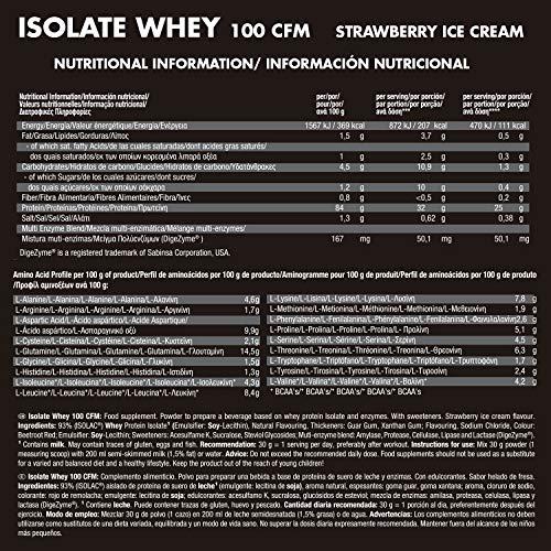 JOE WEIDER VICTORY Isolate Whey 100 CFM 2 kg Fresa