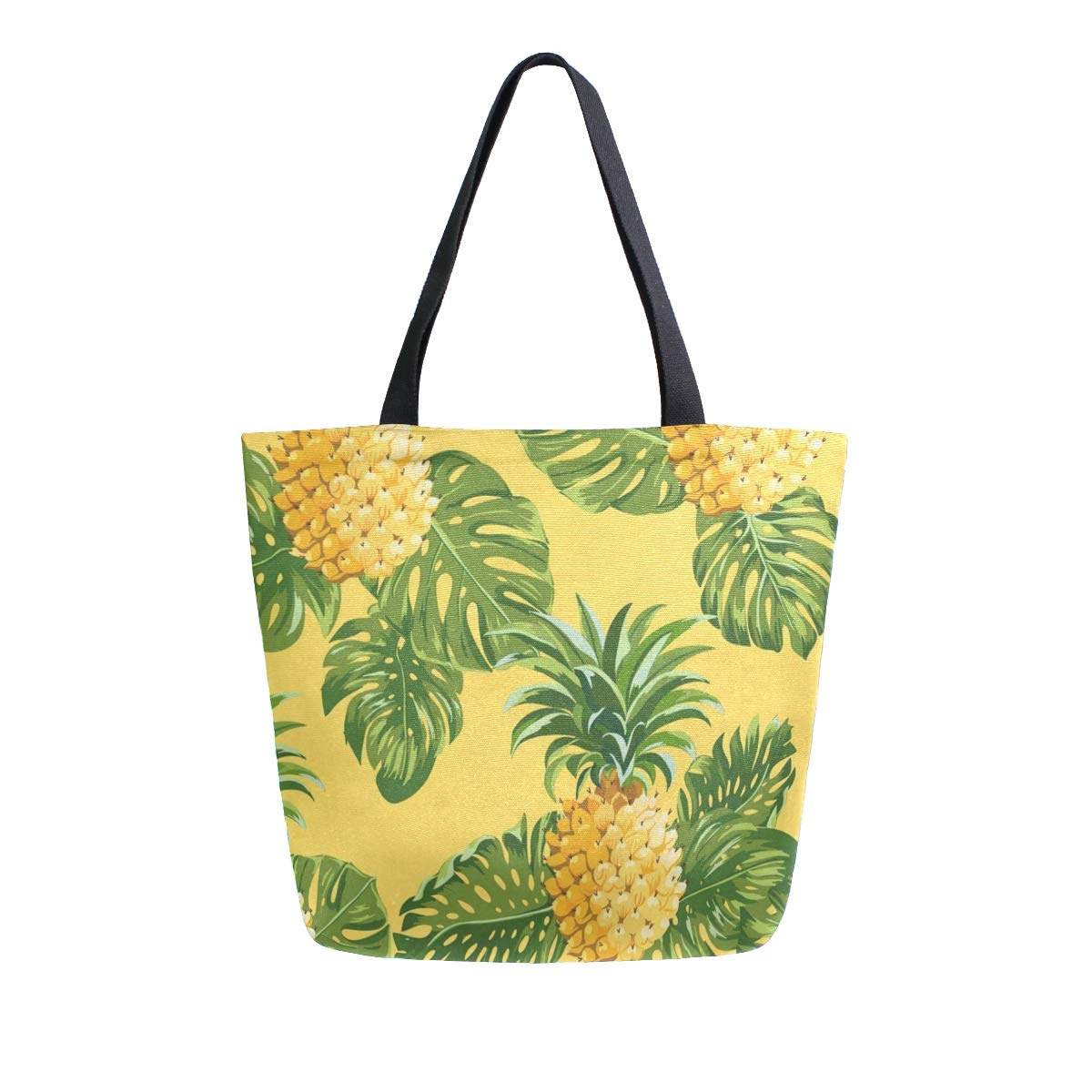 Canvas Tote Bag Pineapples...