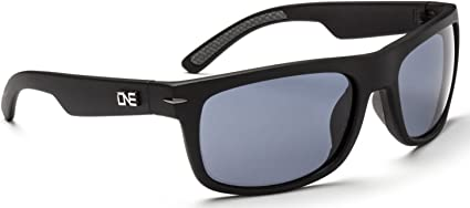 Shiny Black with Polarized Smoke//Silver ONE Timberline Polarized Sunglasses