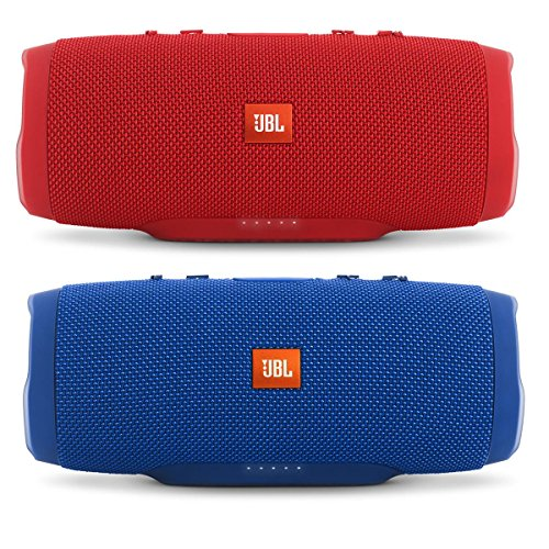 Click to buy JBL Charge 3 Waterproof Portable Bluetooth Speaker - Pair (Blue/Red) - From only $239.9