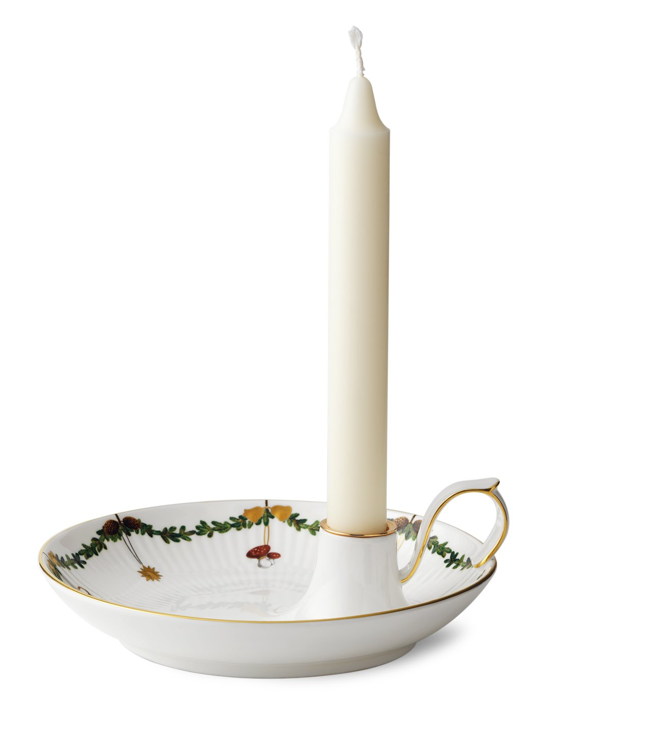 Royal Copenhagen Star Fluted Christmas Candlestick by Royal Copenhagen (Image #3)