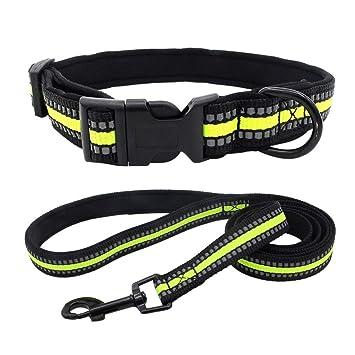 Yivise - Collar Ajustable para Perro con asa de Control de arnés ...