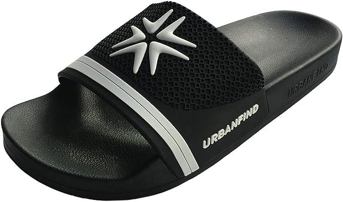 Amazon.com | URBANFIND Men's Athletic Arch Support Slides Sandals Beach  Shower Slippers | Sandals