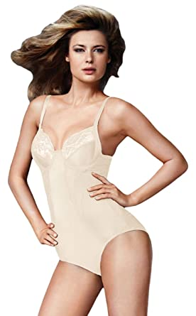 1c99f9e8d Flexees Women`s Pretty Shapewear Embellished Unlined Body Briefer at ...