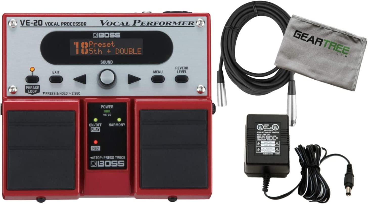 NEW Boss VE-20 Vocal Performer Pedal EFFECTS PERFECT CIRCUIT