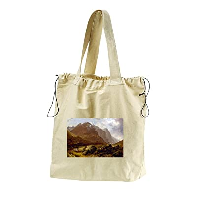 80%OFF Glencoe (Mccolluch) Canvas Drawstring Beach Tote Bag