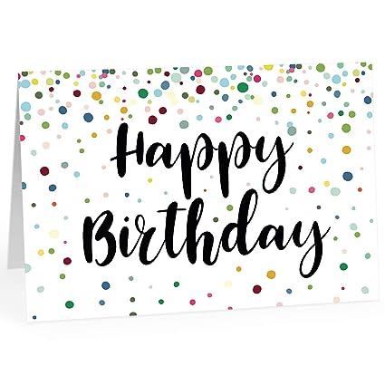 Große Glückwunschkarte Zum Geburtstag Xxl A4 Happy