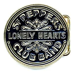 Loud Distribution - The Beatles boucle de ceinture Sgt Pepper Drum noir & doré