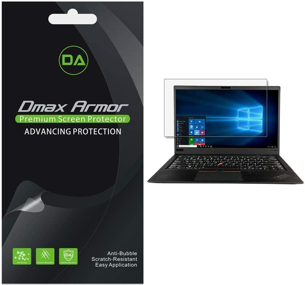 [3-Pack] Dmax Armor for Lenovo ThinkPad X1 Carbon (6th Generation) Screen Protector, Anti-Glare & Anti-Fingerprint (Matte) Shield