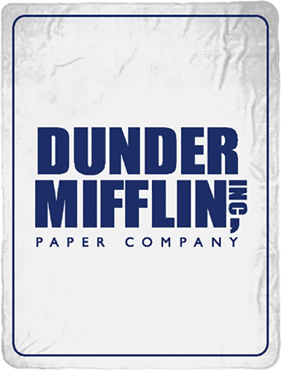 The Office Dunder Mifflin Inc Paper Company Soft Fleece Throw Blanket