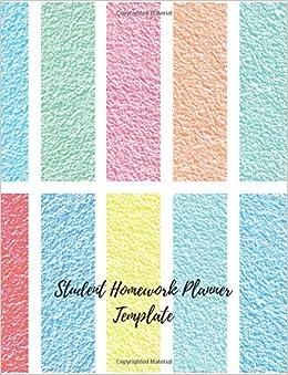 homework journal template