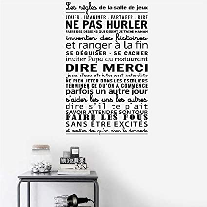 Amazon Com Hetsa Wall Stickers Decals Art Words Sayings Removable