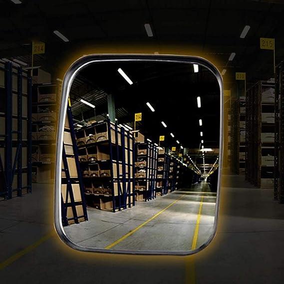 Traffico Specchio Specchio convesso di sicurezza rettangolo Specchio PC infrangibile Specchio stradale grandangolare Per la sicurezza e la sicurezza del punto vendita Espandi i tuoi orizzonti per una
