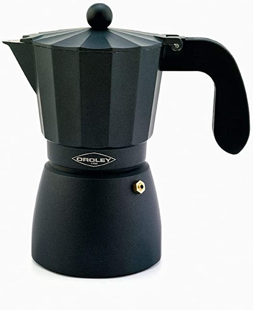 Oroley - Cafetera Italiana Touareg | Aluminio | 1 Taza | Cafetera ...