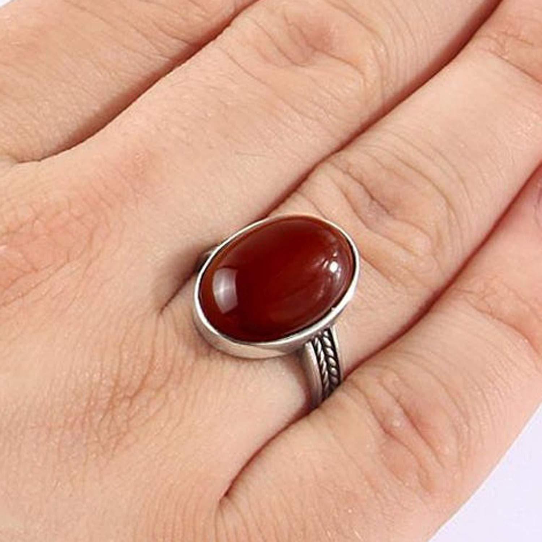 Fine Silver Carnelian Ring