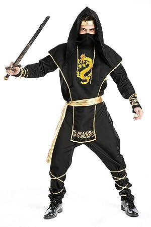 Ninja cosplay ropa Japón Hokkaido Killer Samurai ropa de ...