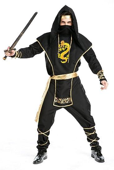 Amazon.com: Ninja cosplay ropa Japón Hokkaido Killer Samurai ...
