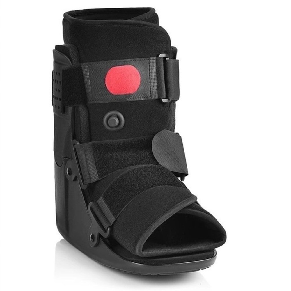 Low Top Air Walker Fracture Boot - Red Ball Version