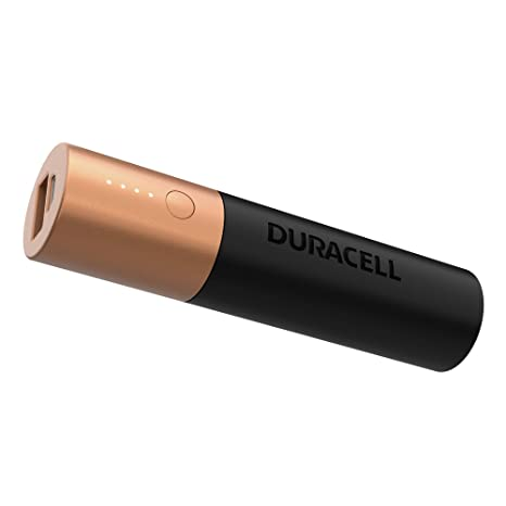 Duracell Power Bank 3350 mAh, Universal Portable Battery Charger for iPhone, Samsung and Other USB-Powered Devices
