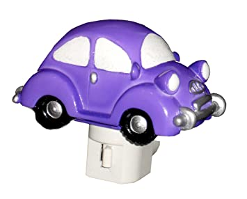 Punch Buggy Car >> 4 75 Purple Bug Car Night Light Beetle Punch Buggy Light