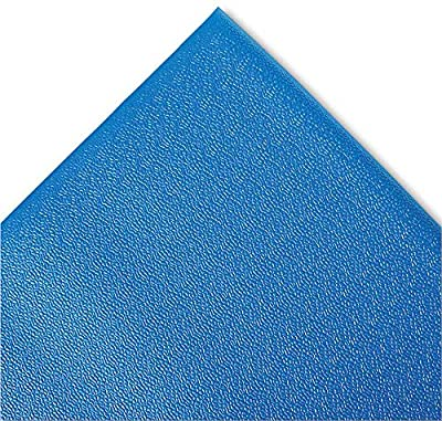 Crown Comfort King Anti-Fatigue Mat, Zedlan, Royal Blue