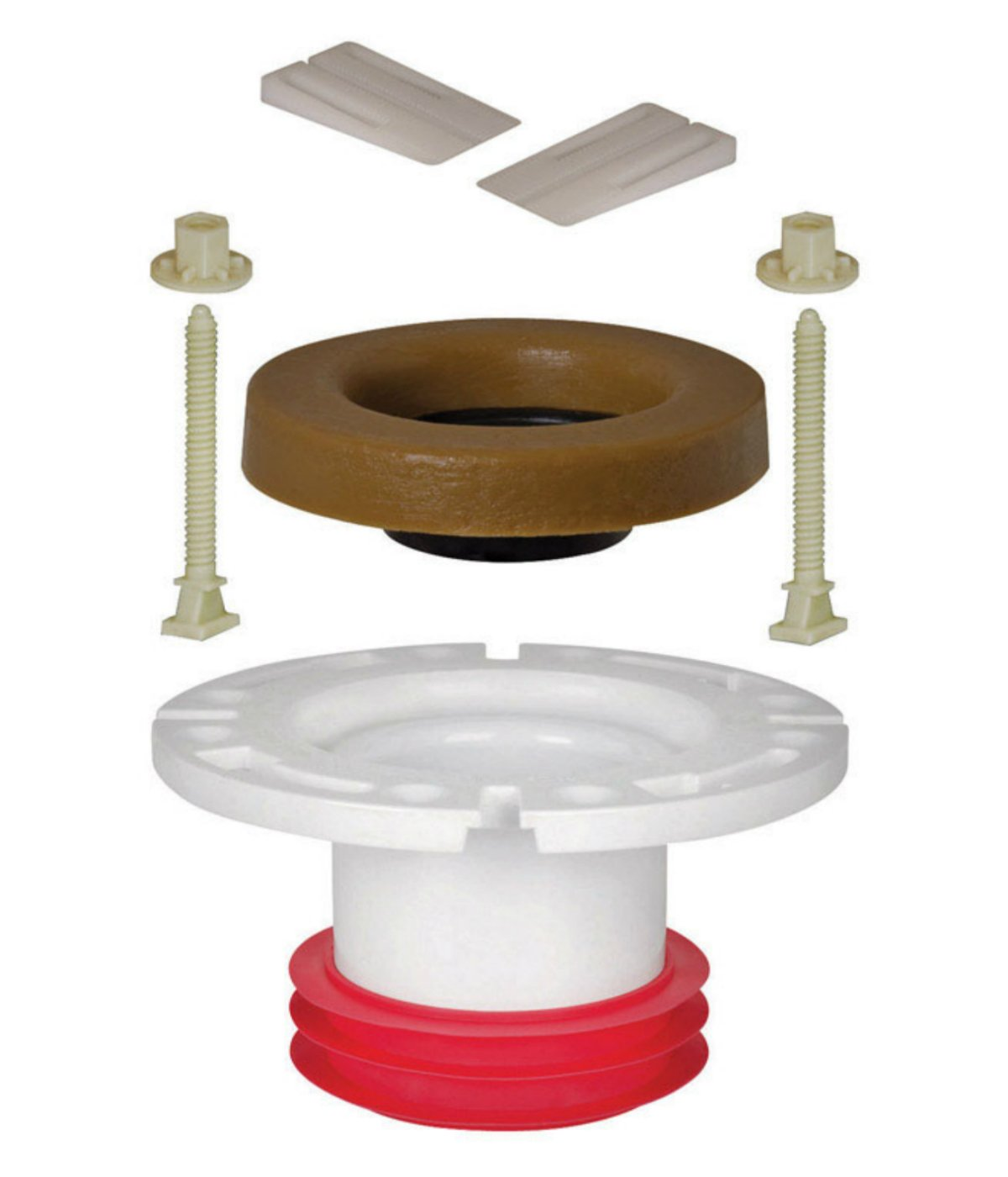 Sioux Chief Closet Flange Repair Kit Push-Tite Pvc 4 ''