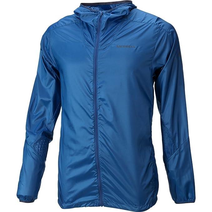 23b1806b68 Merrell Torrent Windbreaker Jacket Men S Snorkel Blue: Amazon.ca ...