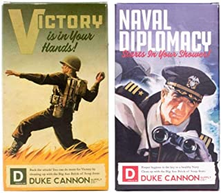 product image for Duke Cannon WWII Edition Big Brick of Soap for Men: Naval Diplomacy and Victory, 10 Oz